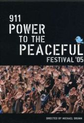 911 Power to the Peaceful Festival 2005 DVD cover