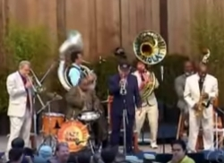 Preservation Hall Jazz Band at Stern Grove Festival still