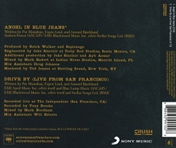 Train ‎– Angel In Blue Jeans single back cover