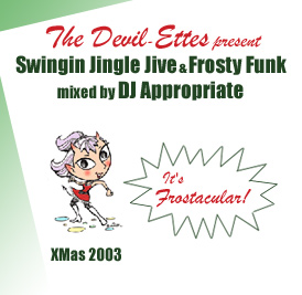 Devil-ettes XMas 2003 mix cover