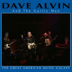 "Dave Alvin ""The Great American Music Galaxy"" album cover"