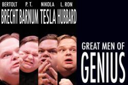 Mike Daisey - Great Men Of Genius audiobook cover