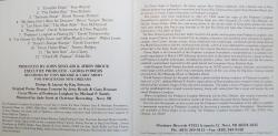 Piano Night at Tipitina's 1994 CD inside liner notes