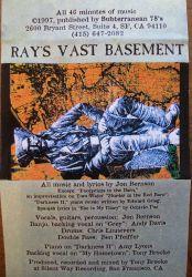 Ray's Vast Basement 1997 album liner notes